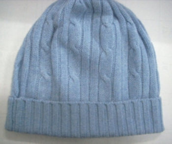 Pashmina Cable Hat