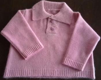 Cashmere Baby Shirt