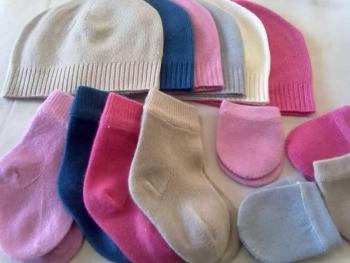 Baby Hat Mitten Socks