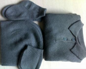 Cashmere Socks, Hat, Jersey