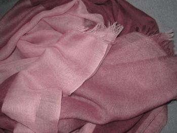 Fine Weave 4 colour Scarf