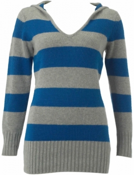 Ladies Stripe Hoodies