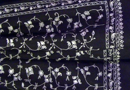 Embroidery Beeded Shawl