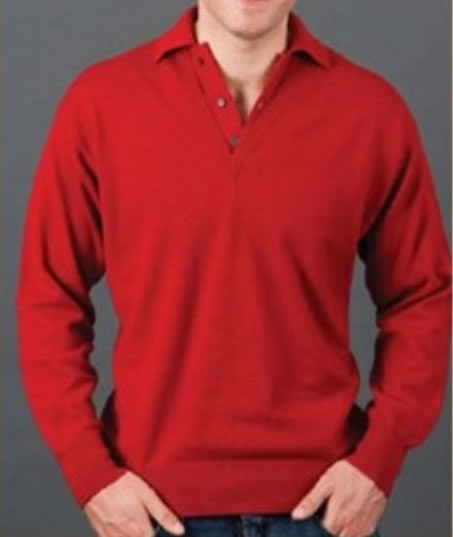 Cashmere Gents Polo Neck