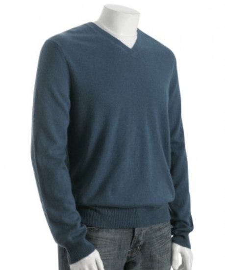 Cashmere Sweater V-Neck