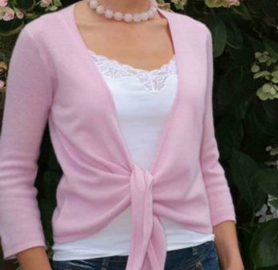 Cashmere Sweater - Pink