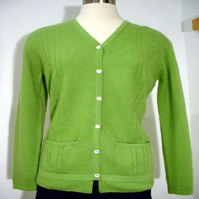 Cashmere Cardigan - Pocket